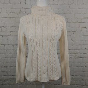 Marsh Landing By Amanda Smith Cable Knit Sweater